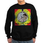 Peace Puppies 3.10.2014 Sweatshirt