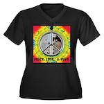 Peace Puppies 3.10.2014 Plus Size T-Shirt