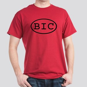 BIC Oval Dark T-Shirt