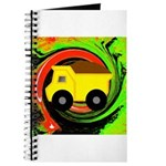 Dump Truck on Abstract Journal