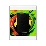 Dump Truck on Abstract Picture Frame