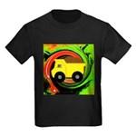 Dump Truck on Abstract T-Shirt