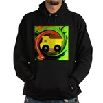 Dump Truck on Abstract Hoodie