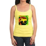 Dump Truck on Abstract Tank Top