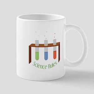 Science Rules Mugs