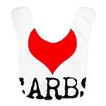 I heart Carbs Bib