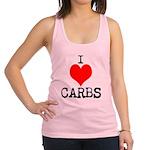 I heart Carbs Racerback Tank Top