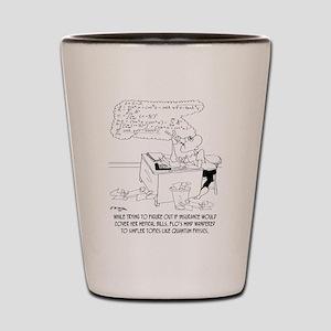 Insurance Cartoon 8760 Shot Glass