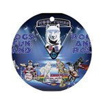 Dogs, Fun. & Rock and Roll Ornament (Round)