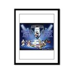 Dogs, Fun. & Rock and Roll Framed Panel Print