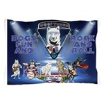 Dogs, Fun. & Rock and Roll Pillow Case