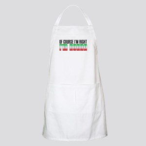 I'm Right I'm Nonna Apron