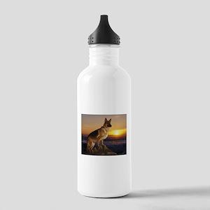german shepherd Stainless Water Bottle 1.0L