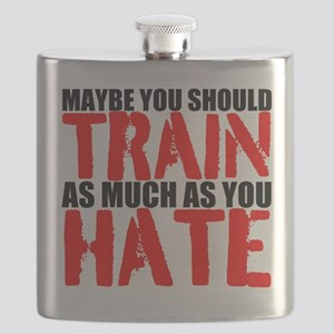 Maybe you should train as much as you hate Flask