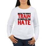 Maybe you should train as much as you hate Long Sl