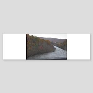 River Below Bumper Sticker