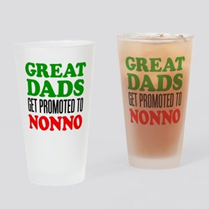Promoted To Nonno Drinking Glass