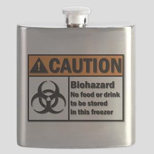 Biohazard Warning Flask