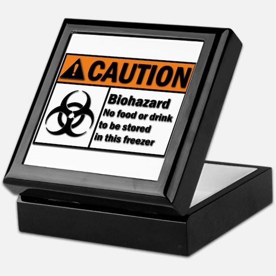 Biohazard Warning Keepsake Box
