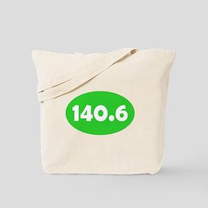 Lime 140.6 Oval Tote Bag