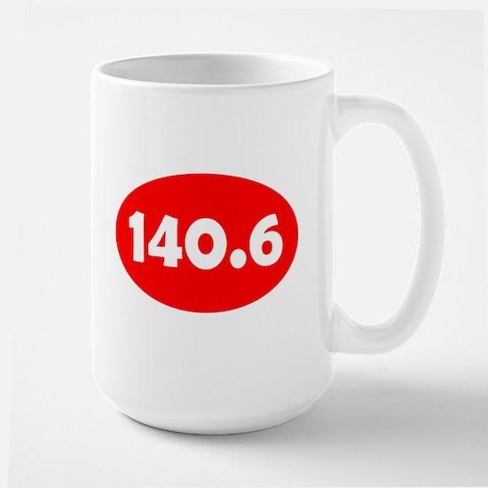 Red 140.6 Oval Mugs
