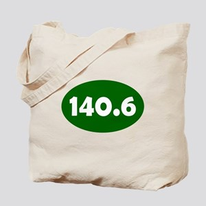 Green 140.6 Oval Tote Bag