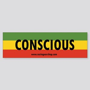 Rasta Gear Shop Conscious Bumper Sticker