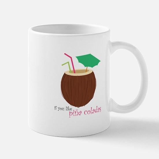 Pina Colada Mugs