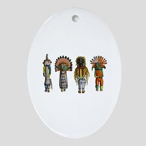 SPIRIT Oval Ornament