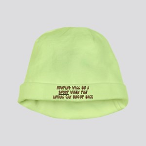 Hunting will be a sport - baby hat