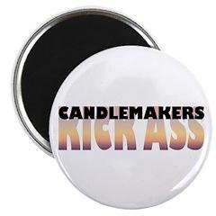 "Candlemakers Kick Ass 2.25"" Magnet (10 pack)"