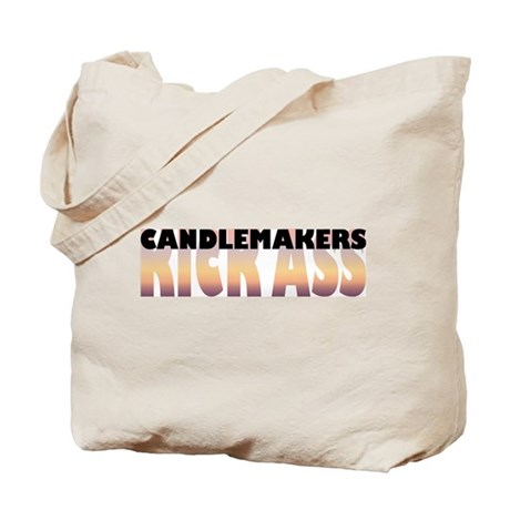 Candlemakers Kick Ass Tote Bag