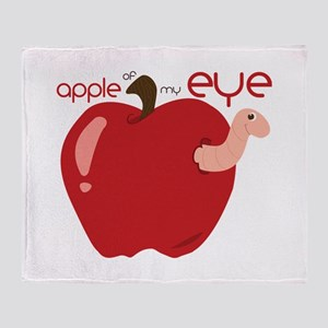 Apple Of My Eye Throw Blanket