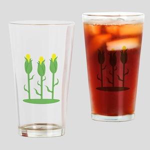 Corn Feast Drinking Glass