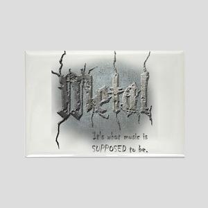 Metal Rectangle Magnet