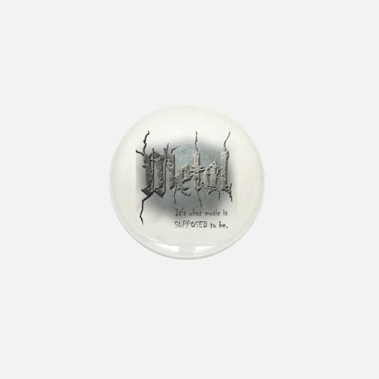 Metal Mini Button