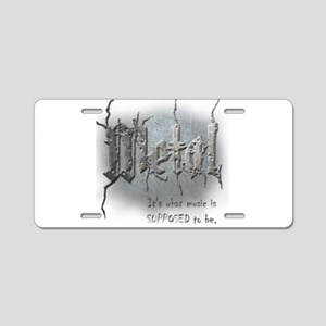 Metal Aluminum License Plate