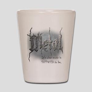 Metal Shot Glass