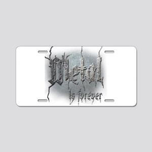 Metal 2 Aluminum License Plate