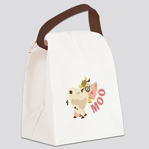 Moo Canvas Lunch Bag