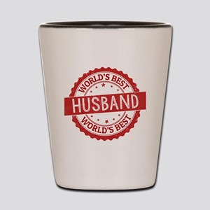 World's Best Husband Shot Glass