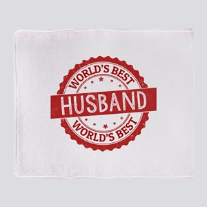 World's Best Husband Throw Blanket