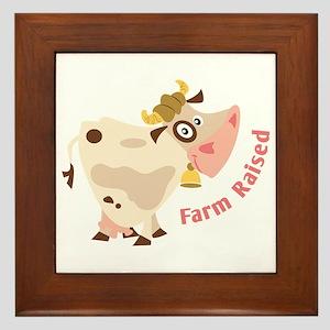 Farm Raised Framed Tile