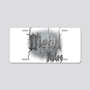 Metal3 Aluminum License Plate