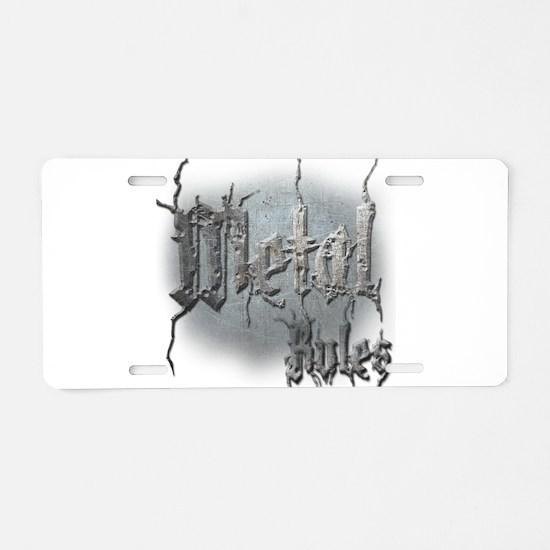 Metal3 Aluminum License Plate