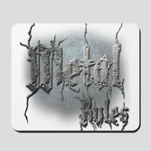 Metal3 Mousepad