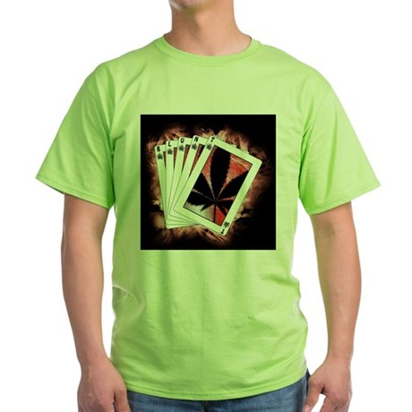 Blunt Cards Green Tee