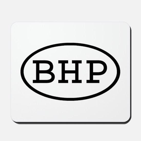 BHP Oval Mousepad