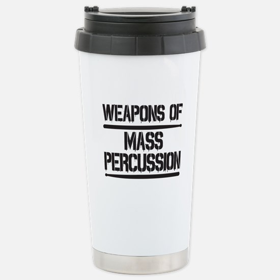 Weapons of Mass Percuss Stainless Steel Travel Mug