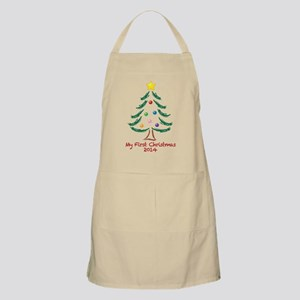 My First Christmas 2014 Apron